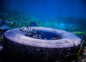 Underwater tire